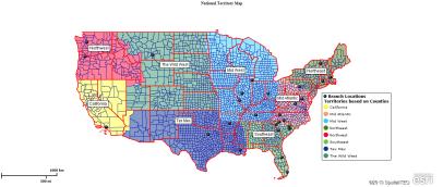 National Territory Map