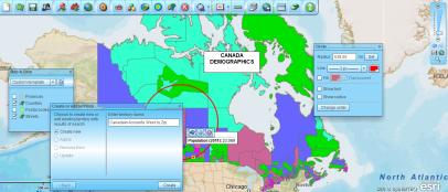 Canada Map Tools