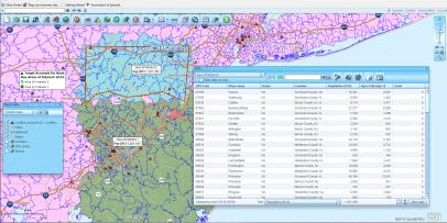 Territory Map Data